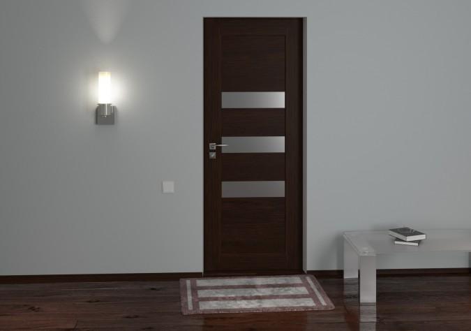 дверь Сатин